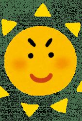 4月の紫外線は夏並みです